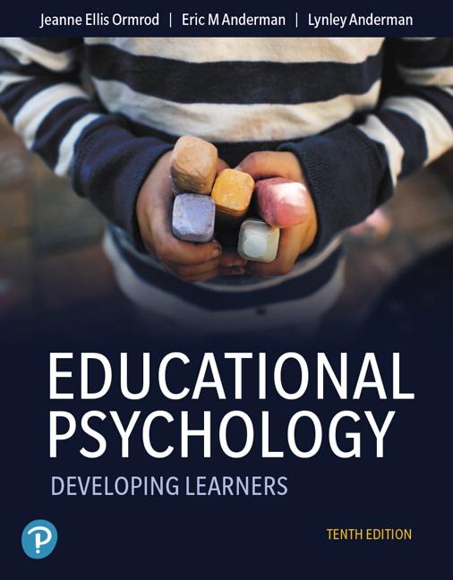 Ormrod Anderman Anderman Educational Psychology