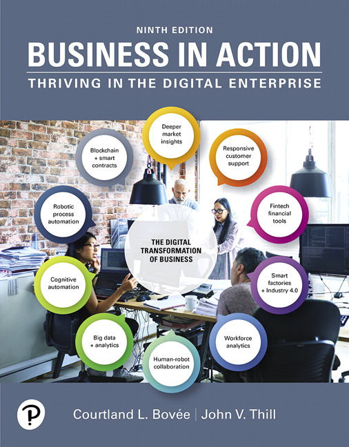 Business in Action [RENTAL EDITION], 9th Edition