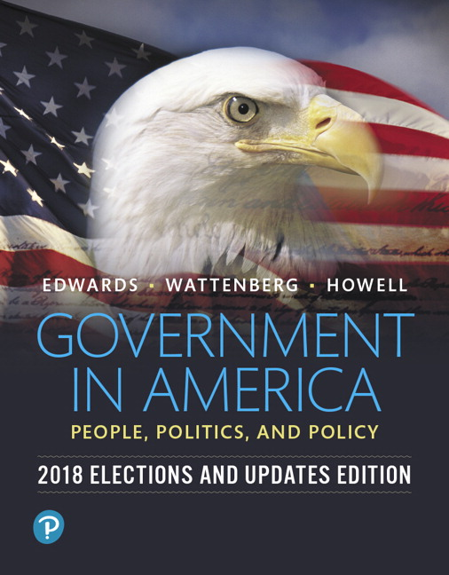 Revel for Government in America: People, Politics, and Policy, 2018 Elections and Updates Edition -- Instant Access