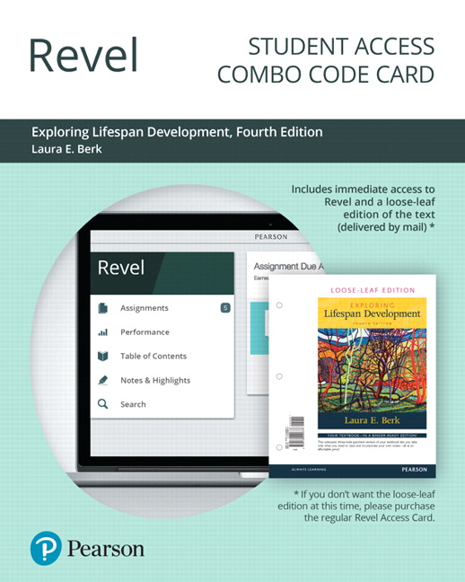 Berk revel for exploring lifespan development access card pearson revel for exploring lifespan development combo access card 4th edition fandeluxe Image collections