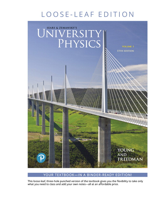 Young & Freedman, University Physics with Modern Physics