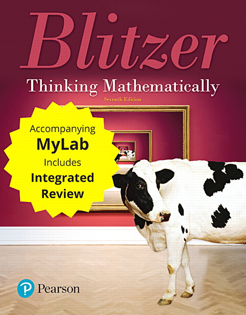 Integrated review courses in mymathlab and mystatlab pearson thinking mathematically plus mylab math with integrated review access card package 7th edition blitzer fandeluxe Choice Image