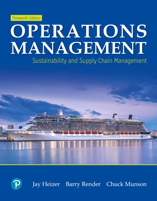 Operations management 9th edition solutions heizer