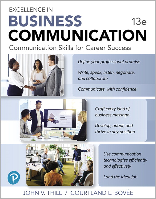 Excellence in Business Communication [RENTAL EDITION], 13th Edition