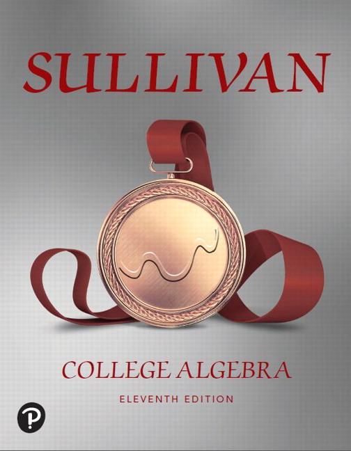Sullivan, The Precalculus Series, 10th Edition | Pearson