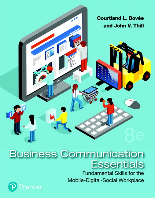 Business Communication Book Cover ~ Bovee thill powerpoint presentation download only for