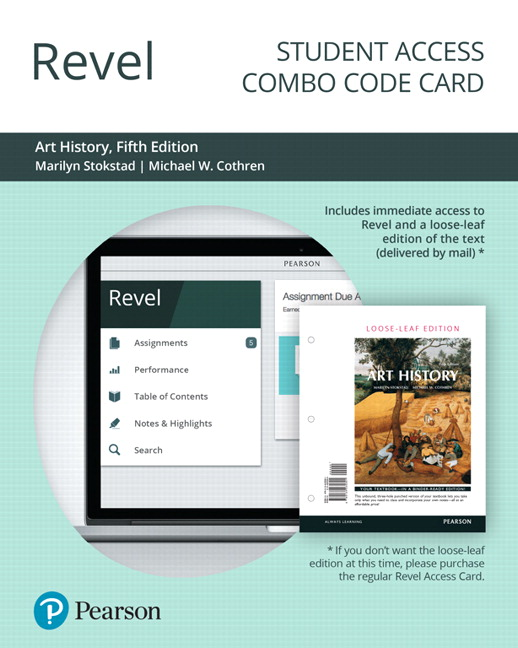 revel for art history combo access card 5th edition