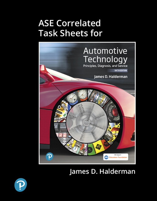 ASE Correlated Task Sheets for Automotive Technology