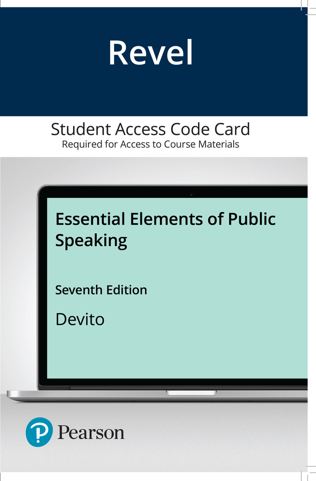 Essential Elements of Public Speaking, 7th Edition