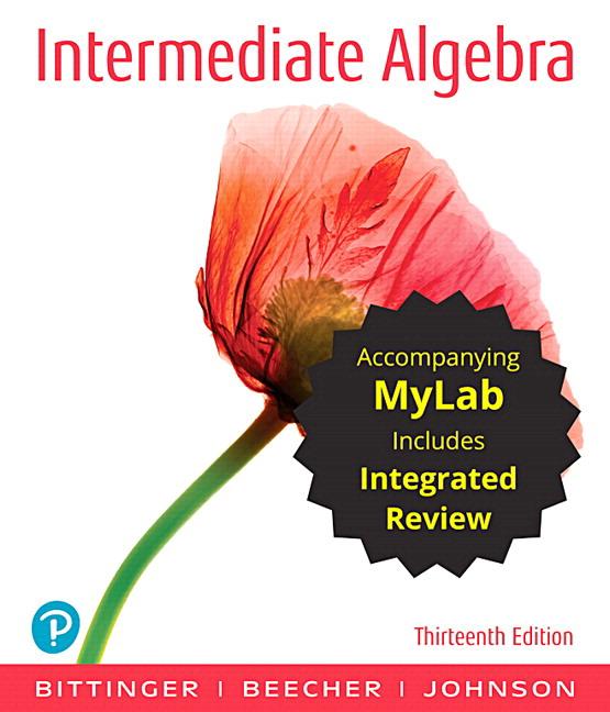 intermediate algebra exam test for pearson edition