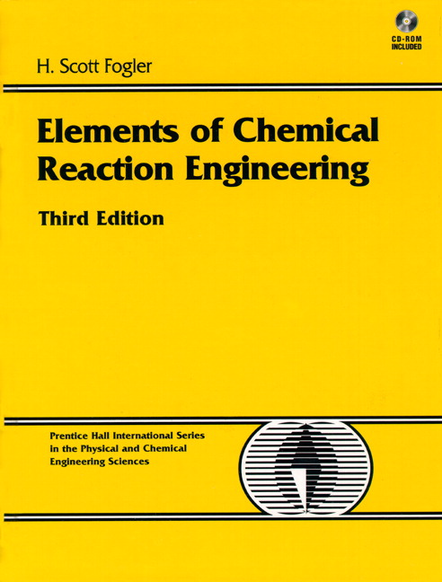 elements of chemical reaction engineering 3rd edition pdf