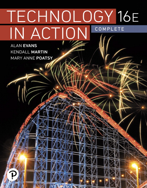 Technology In Action Complete, 16th Edition