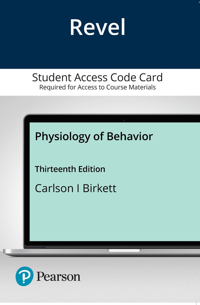 Physiology of Behavior, 13th Edition