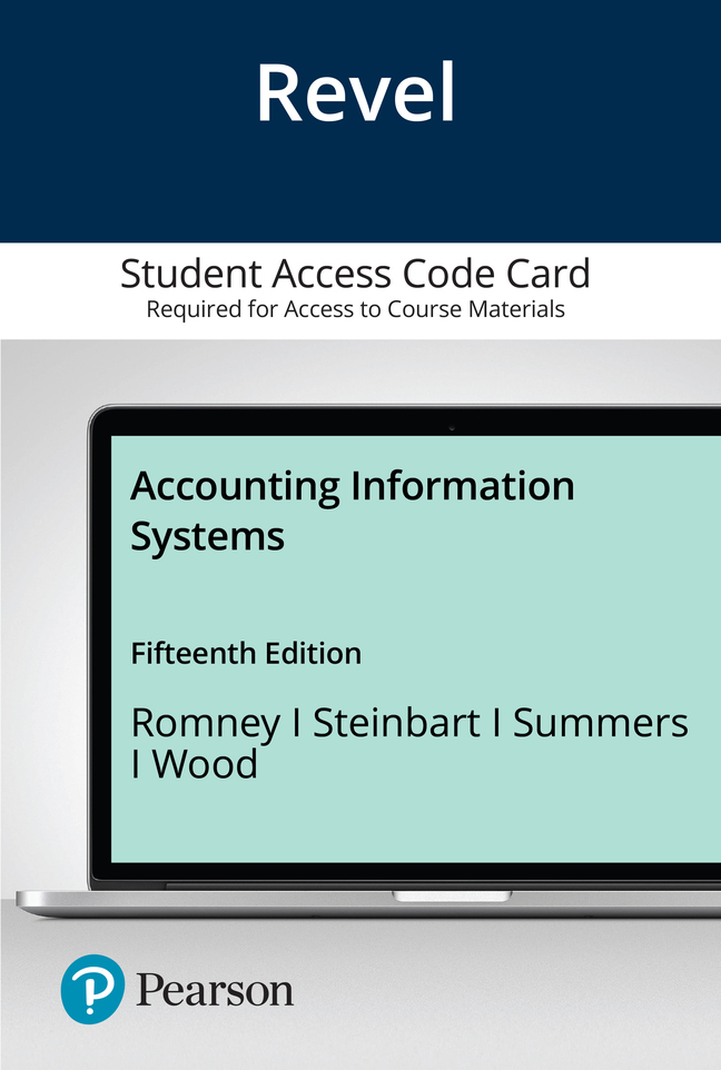 Revel for Accounting Information Systems -- Access Card, 15th Edition