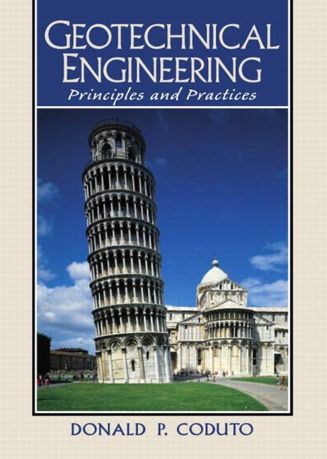 geotechnical engineering solutions manual coduto