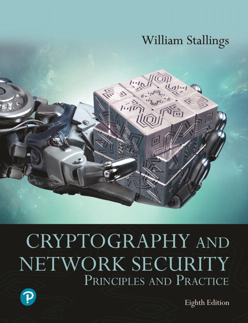 Cryptography and Network Security: Principles and Practice (Subscription)