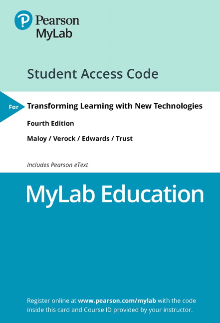 Transforming Learning with New Technologies, 4th Edition