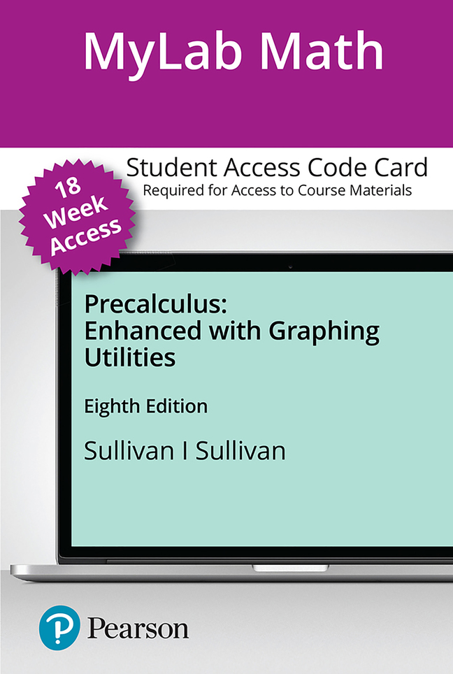 Precalculus Enhanced with Graphing Utilities, 8th Edition