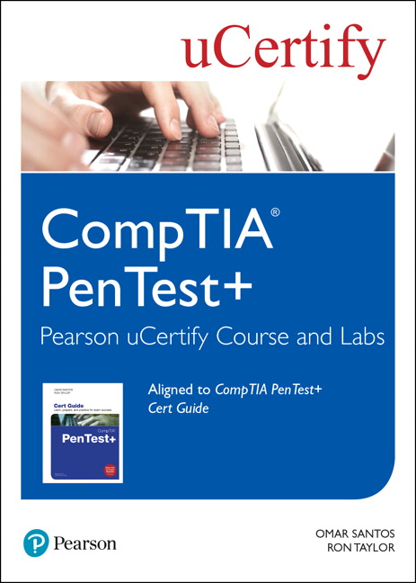 CompTIA PenTest+ Pearson uCertify Course and Labs Access Card