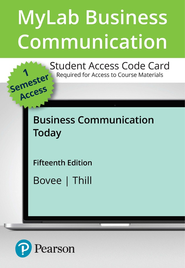 Business Communication Today, 15th Edition