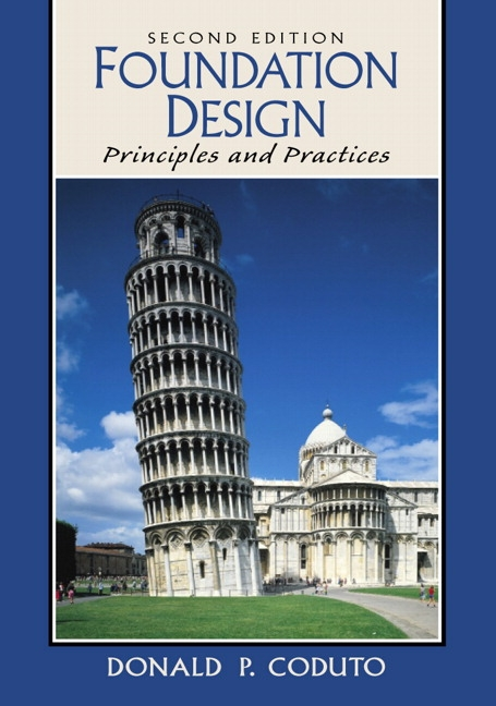 Coduto, Foundation Design: Principles and Practices | Pearson