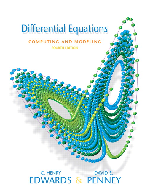 Edwards penney calvis differential equations computing and differential equations computing and modeling 4th edition fandeluxe Image collections
