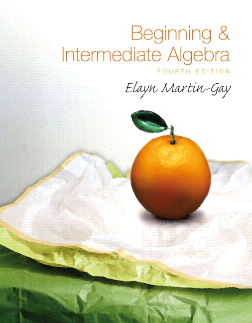 Martin gay beginning intermediate algebra 5th edition pearson beginning intermediate algebra 4th edition fandeluxe Gallery