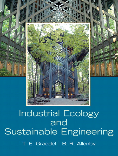 Graedel Allenby Industrial Ecology And Sustainable Engineering Pearson
