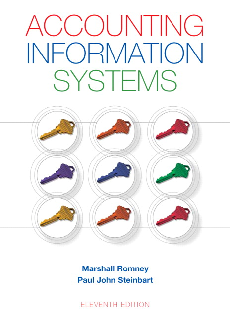 Romney & Steinbart, Accounting Information Systems