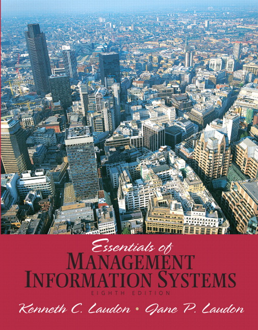 Laudon laudon essentials of management information systems pearson essentials of management information systems fandeluxe Gallery