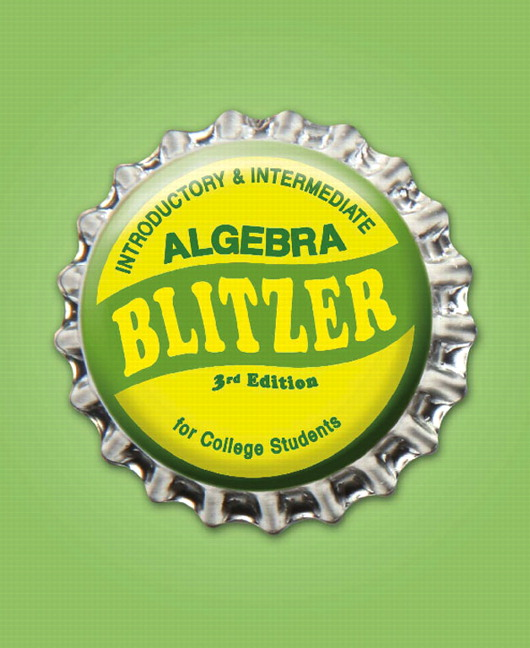 Blitzer introductory and intermediate algebra for college students introductory intermediate algebra for college students 3rd edition fandeluxe Gallery