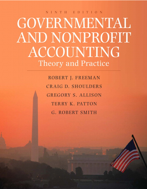 chapter 1 governmental and nonprofit accounting Accounting for governmental & nonprofit entities 16th  accounting for governmental & nonprofit by reck 16th edition test  false as discussed in chapter 1,.
