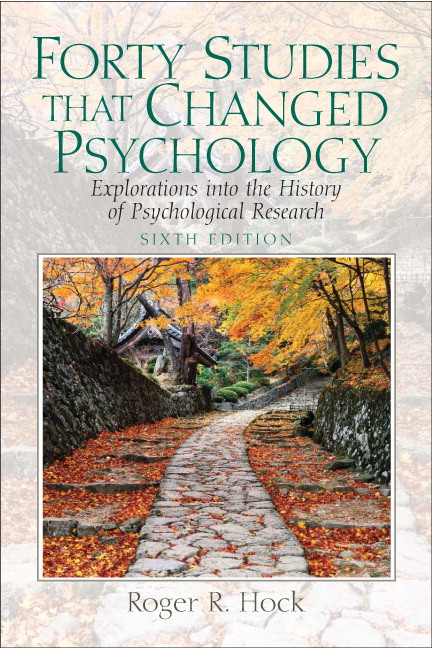 40 studies that changed psychology 7th edition pdf free
