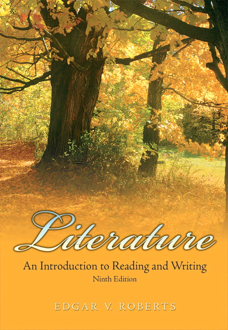 Roberts literature an introduction to reading and writing 9th literature an introduction to reading and writing 9th edition fandeluxe Images