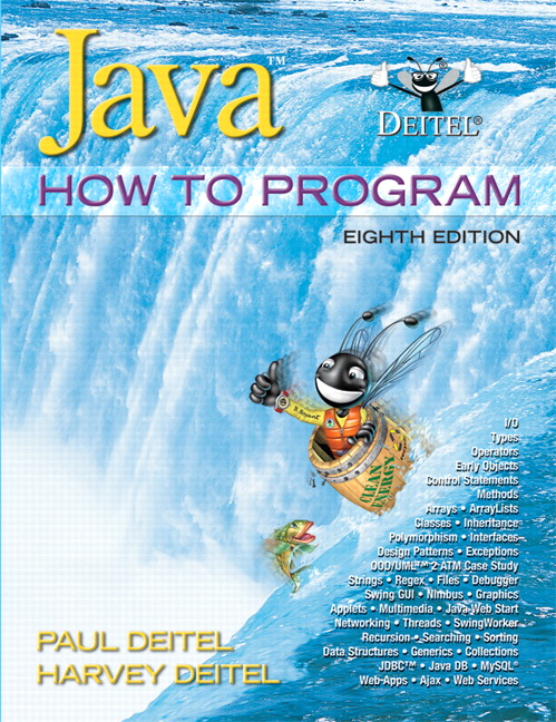 Deitel & Deitel, Java How to Program (early objects), 9th