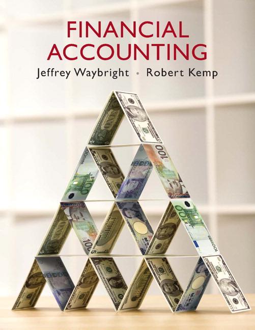 Waybright & Kemp, Financial Accounting | Pearson