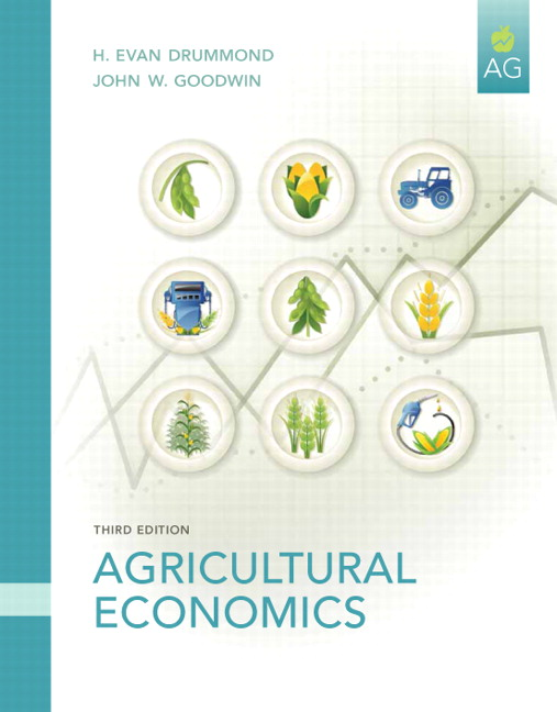 drummond goodwin agricultural economics 3rd edition pearson
