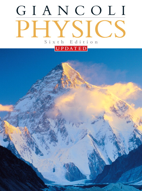 Giancoli instructors resource center on cd rom pearson physics principles with applications updated edition nasta edition 6th edition giancoli fandeluxe Image collections