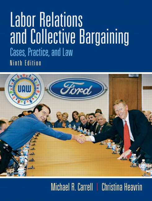 cba of bureau of labor relations Summary of collective bargaining and labor relations by terry leap summary written by conflict research consortium staff citation: leap, terry collective bargaining.