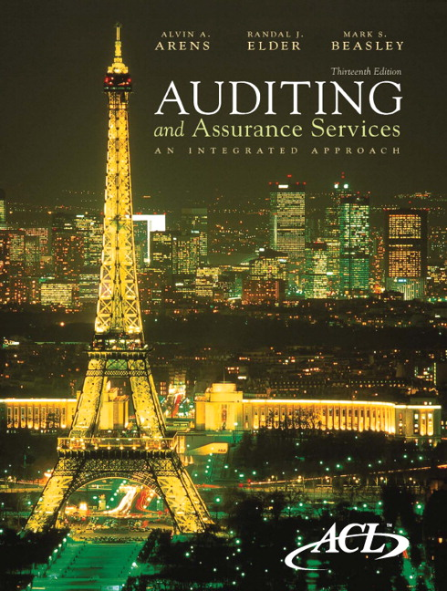 Arens elder beasley auditing and assurance services an auditing and assurance services fandeluxe Image collections