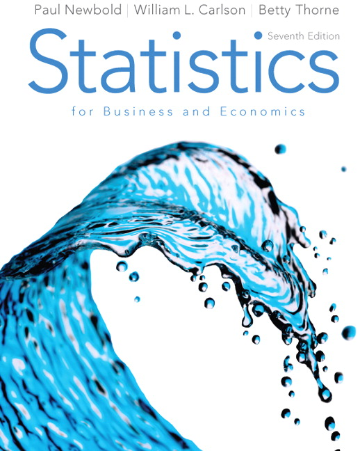Newbold carlson thorne statistics for business and economics statistics for business and economics 7th edition fandeluxe Gallery