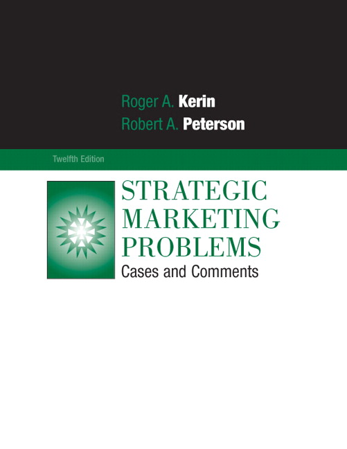 solution of strategic marketing problems chapter Foundations of strategic marketing management  appendix: a sample marketing plan --chapter 2 financial aspects of marketing management -- chapter 3 marketing decision making and case analysis -- chapter 4.