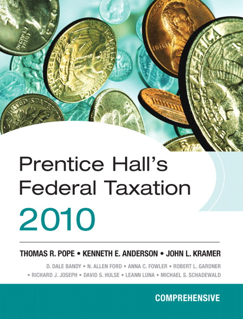 south western federal taxation 2010 comprehensive Click here .