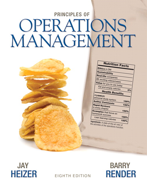 Heizer & Render, Principles of Operations Management Plus