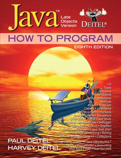 Deitel Deitel Java How To Program Late Objects Pearson