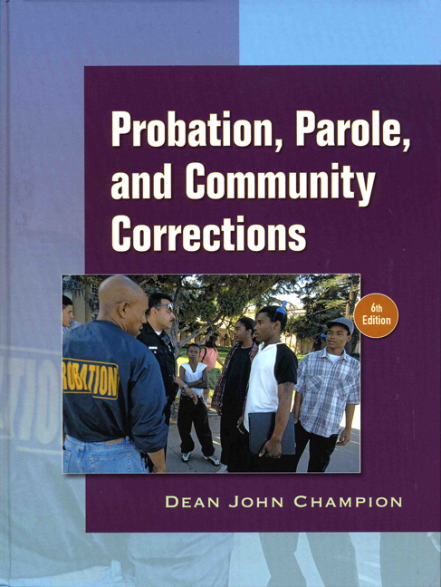 probation and community corrections