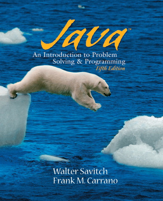 Big java early objects 5th edition