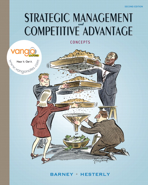 Barney Hesterly Strategic Management And Competitive Advantage