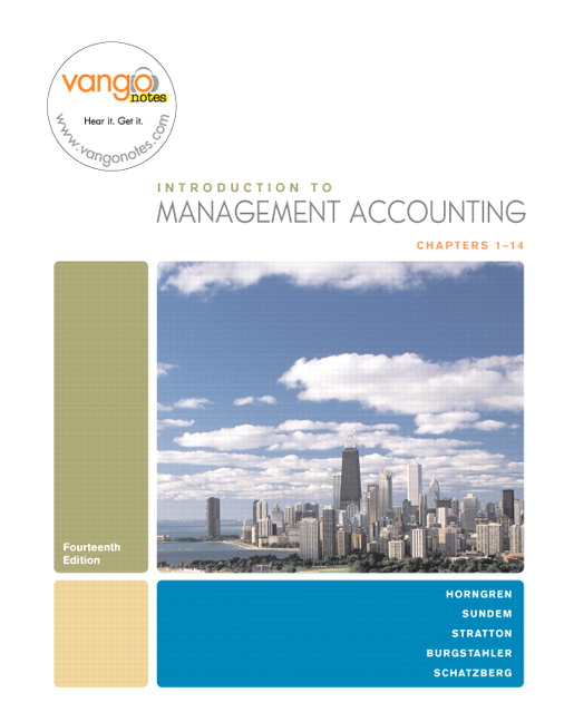 Introduction to Management Accounting,  , 831 pages ...