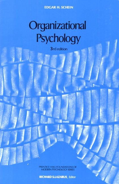 Organizational Psychology, 3rd Edition